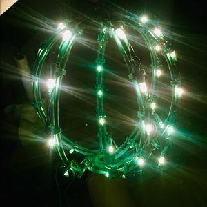 Holiday Green Light Ball Decoration